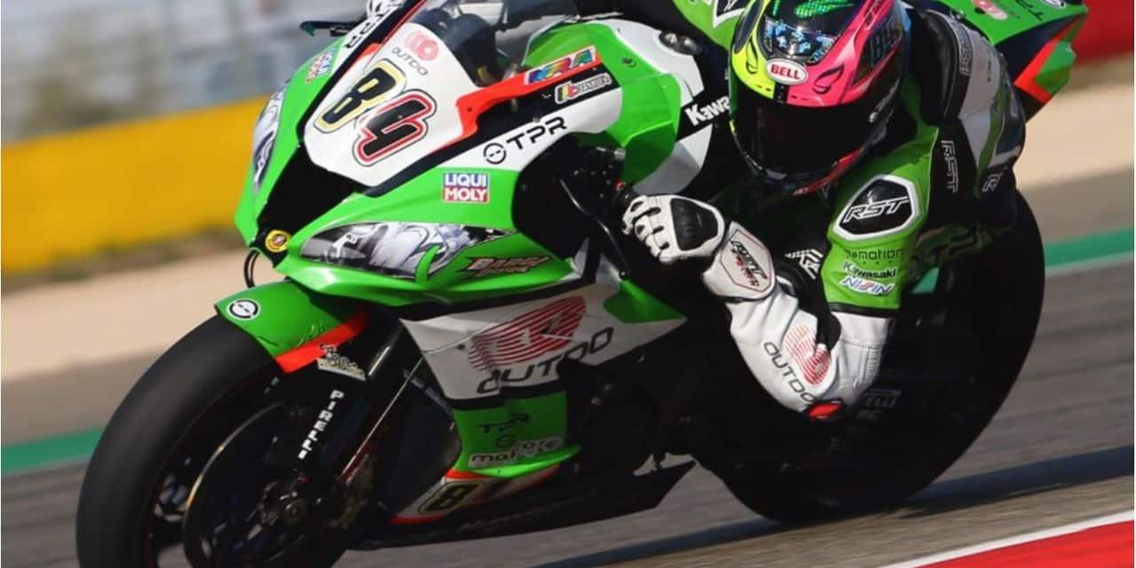 Loris Cresson rentre dans la course des grands en intégrant le Superbike