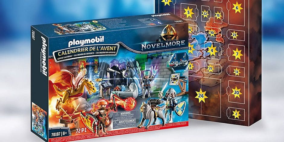 Remportez votre calendrier de l'Avent Playmobil