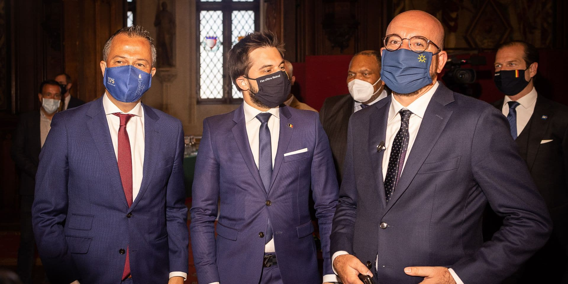 """175 ans des partis libéraux en Belgique : """"Le premier des défis, c'est de préserver la démocratie libérale des populistes et des extrémistes"""", note Georges-Louis Bouchez"""