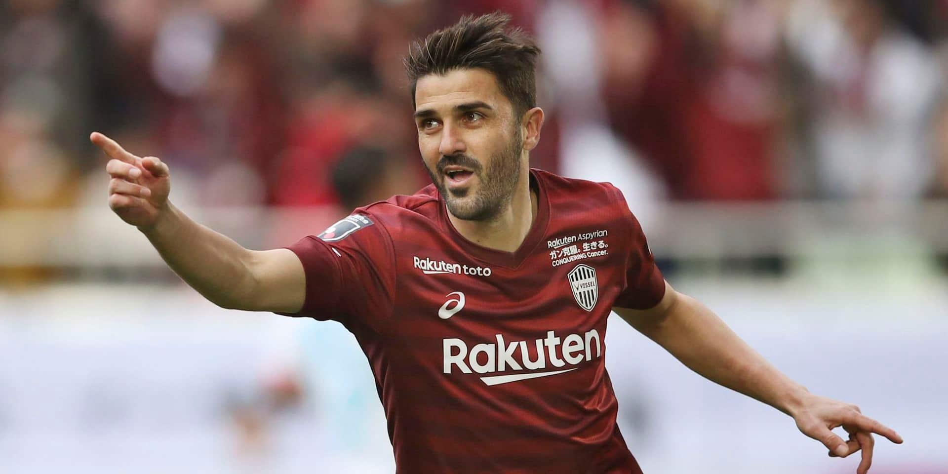 """David Villa met un terme à sa carrière: """"Je continuerai à m'impliquer dans le football d'une autre manière"""""""