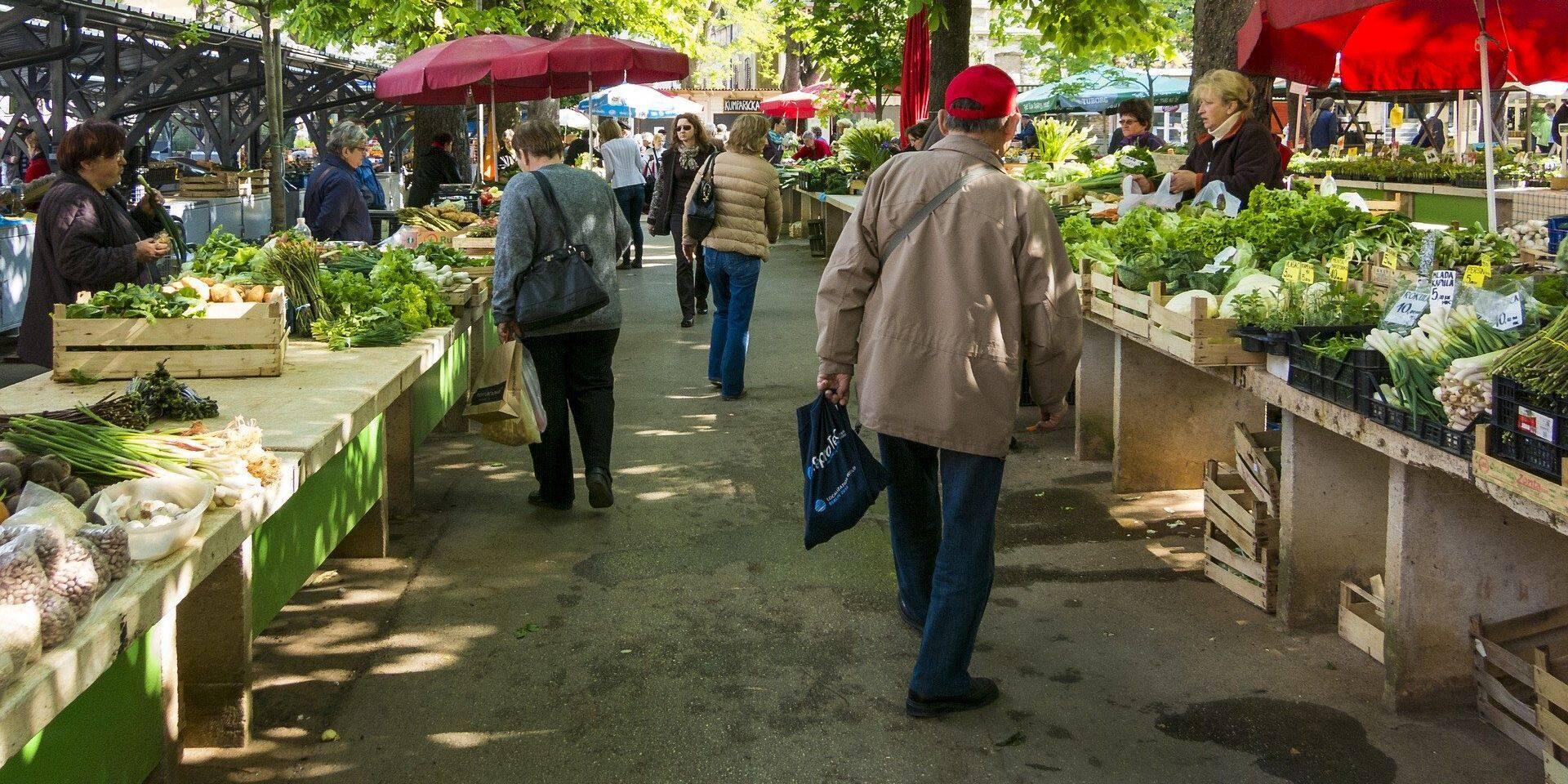 Verviers : le marché hebdomadaire déménage