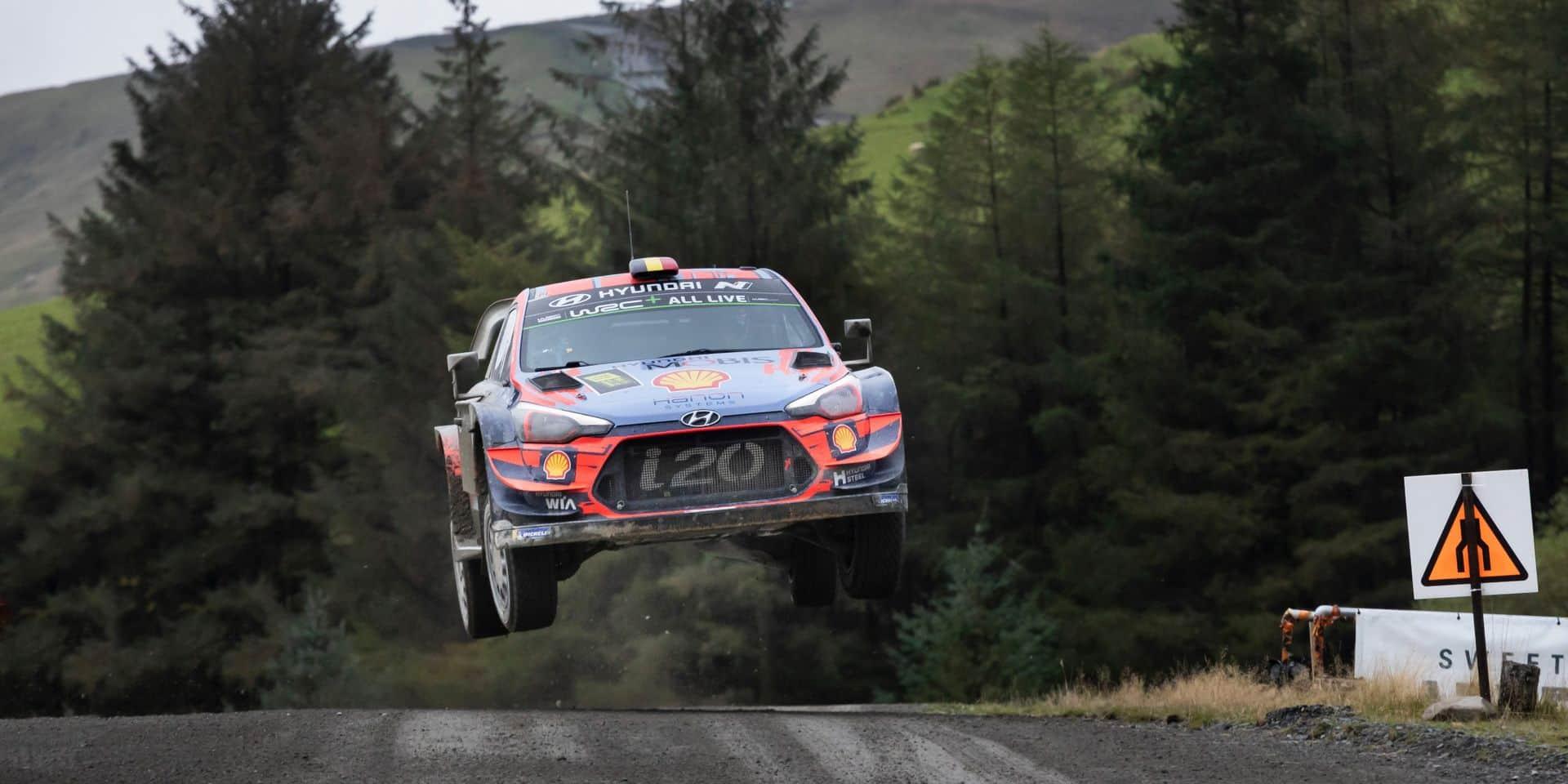 WRC: le Rallye de Grande-Bretagne au pays de Galles à son tour annulé