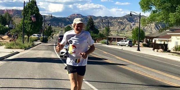 """Luc Maes est parti pour relever le défi de sa vie : """"Courir 200 km dans la vallée de la Mort ne me fait pas peur"""""""