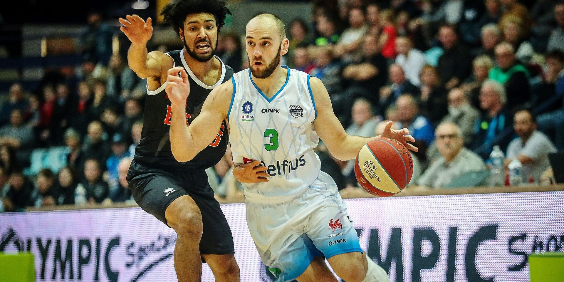 Basket Euromillions League Game 7 Belfius Mons-Leuven Bears