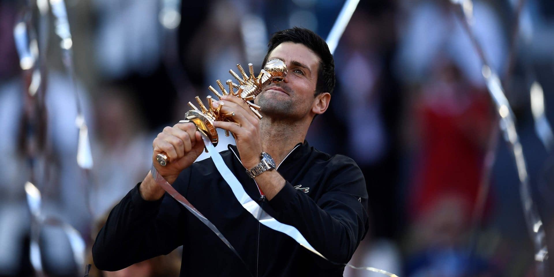 Classement ATP: Djokovic conforte sa place de N.1 mondial, Goffin reste 23e