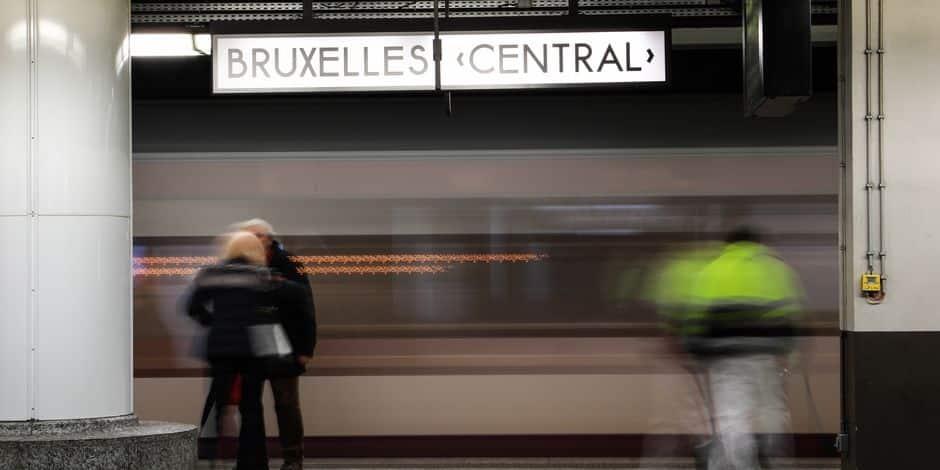 La station de métro gare Centrale en travaux d'ici 2020