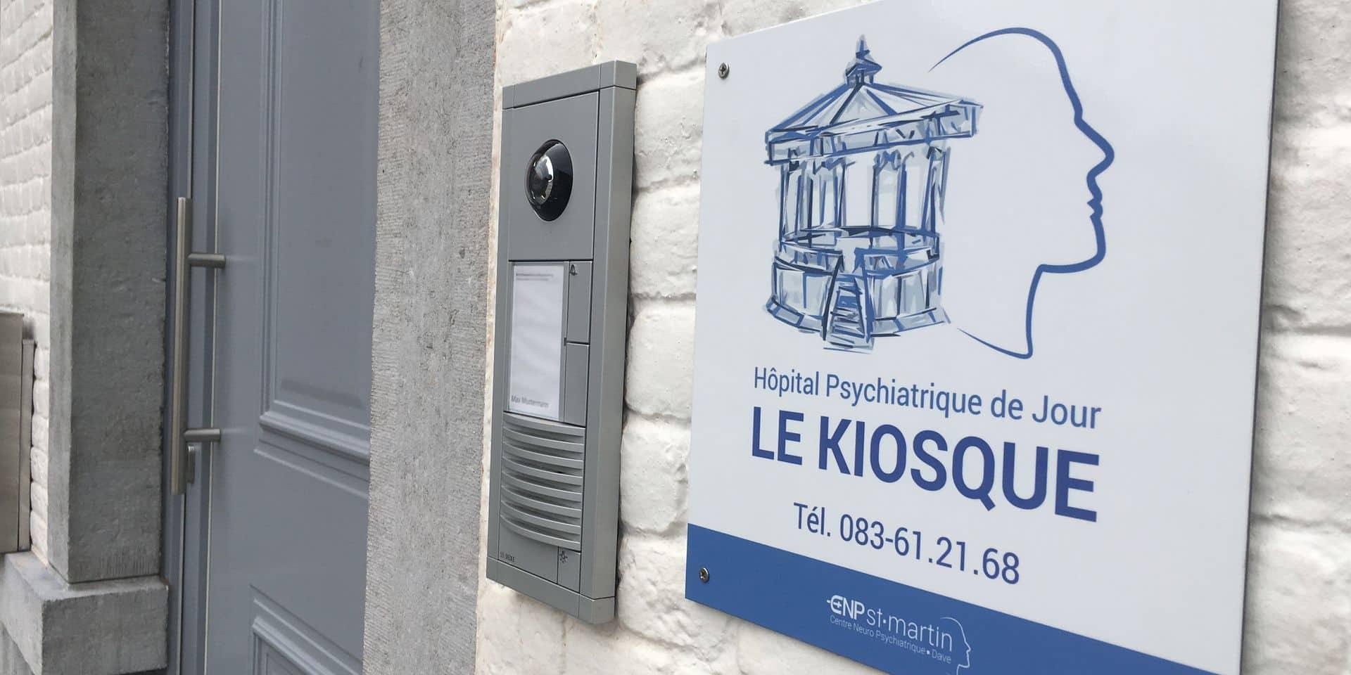 Le Kiosque : un hôpital psychiatrique de jour à Ciney