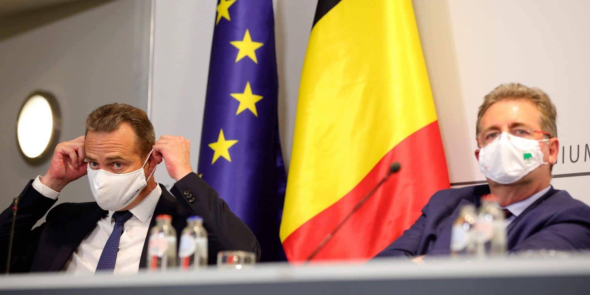 """Bruxelles passe en rouge sur la carte de l'Europe mais Vervoort veut rassurer: """"La situation a tendance à se stabiliser"""""""