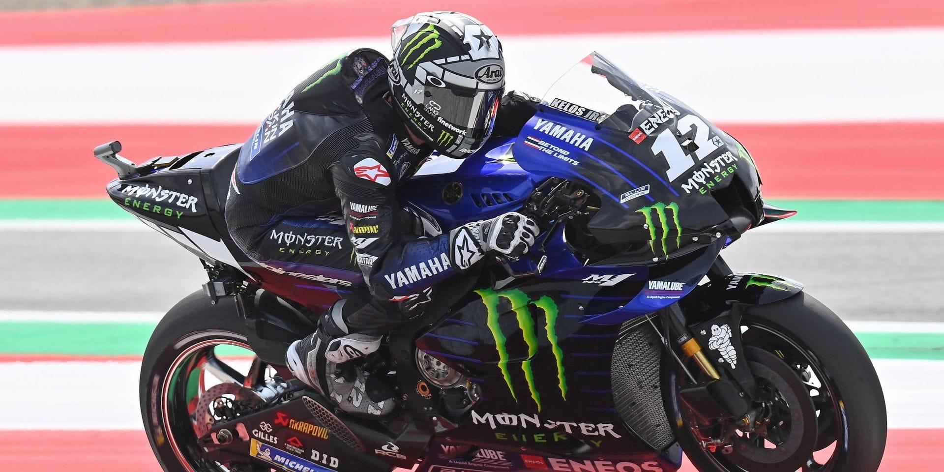 Moto GP : Maverick Vinales partira en pole position au Grand Prix d'Autriche
