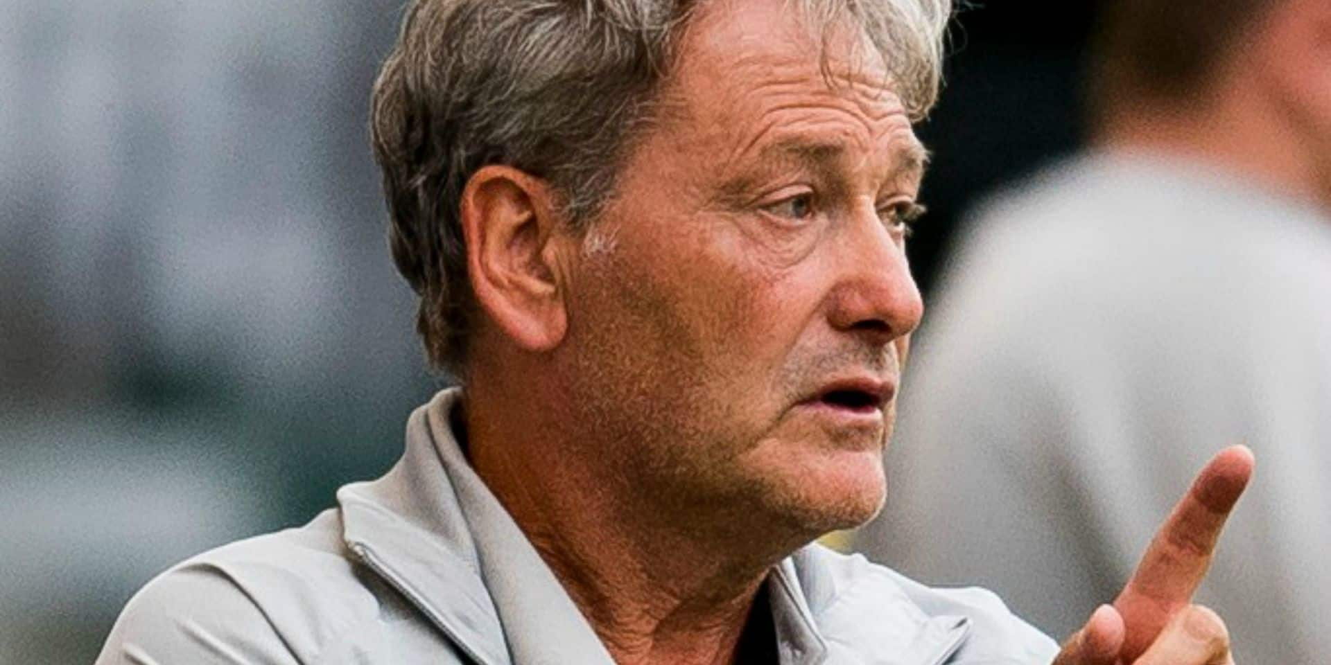 """Mathijssen regrette le manque d'efficacité des Diablotins durant la campagne : """"Il nous a manqué un killer"""""""