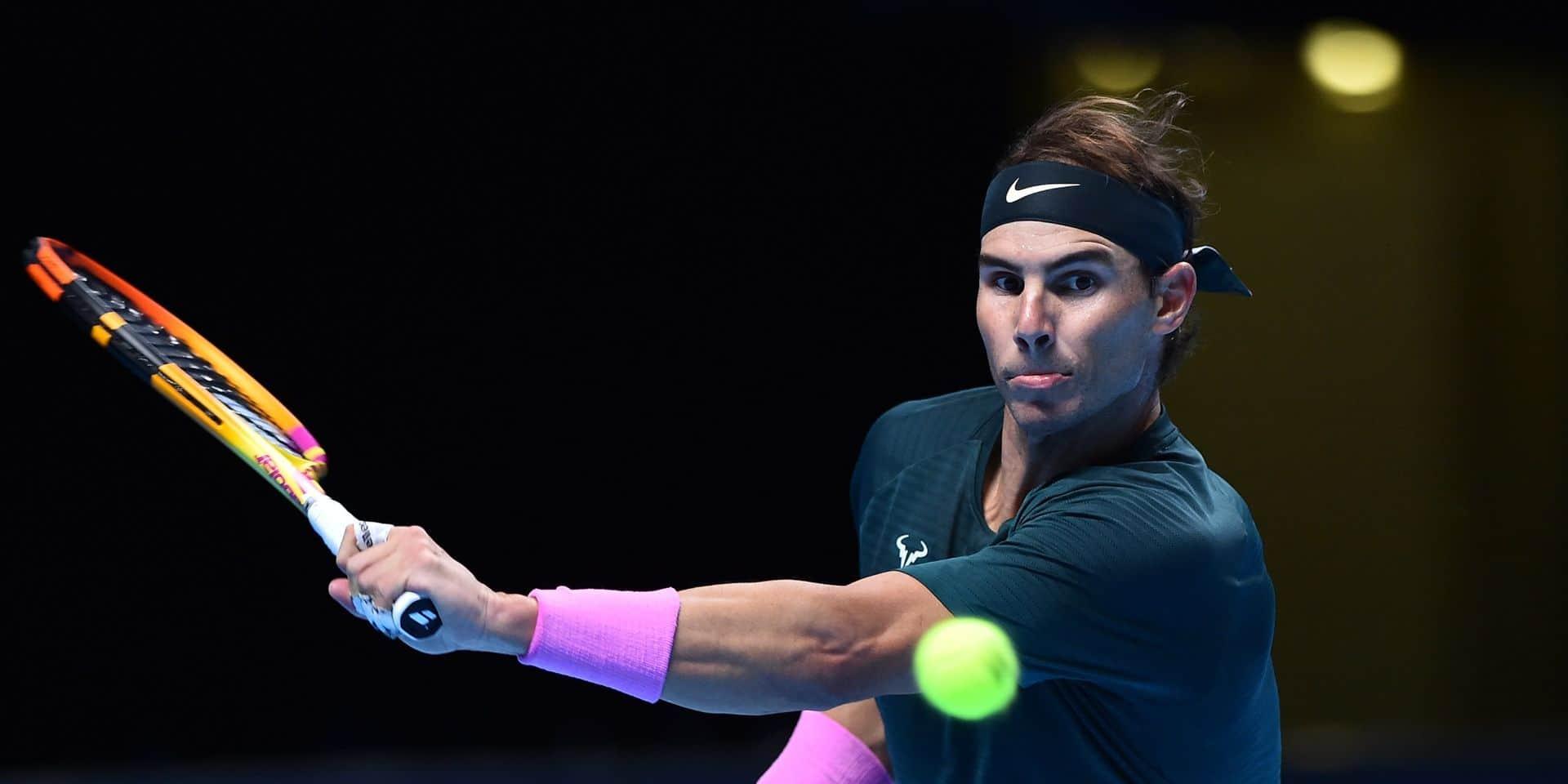 """Rafael Nadal s'oppose à Djokovic au sujet de la PTPA: """"En faisant cela, il n'aide pas plus le tennis que les autres joueurs"""""""