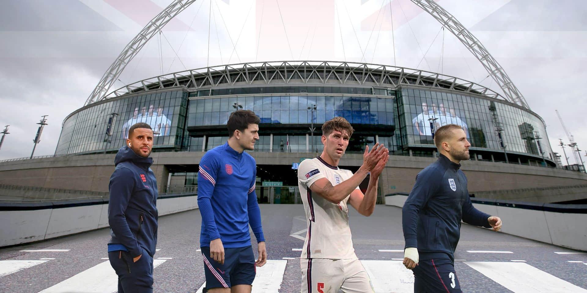 Quatre garçons dans le vent pour pousser l'Angleterre