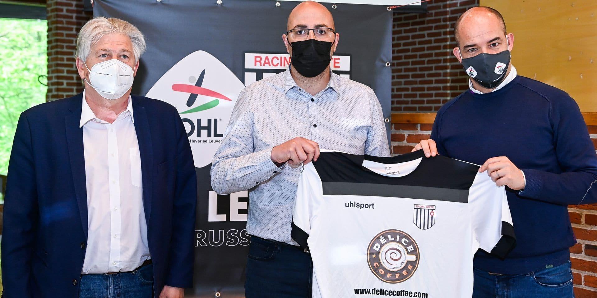Le Racing White Woluwe signe un partenariat avec OHL