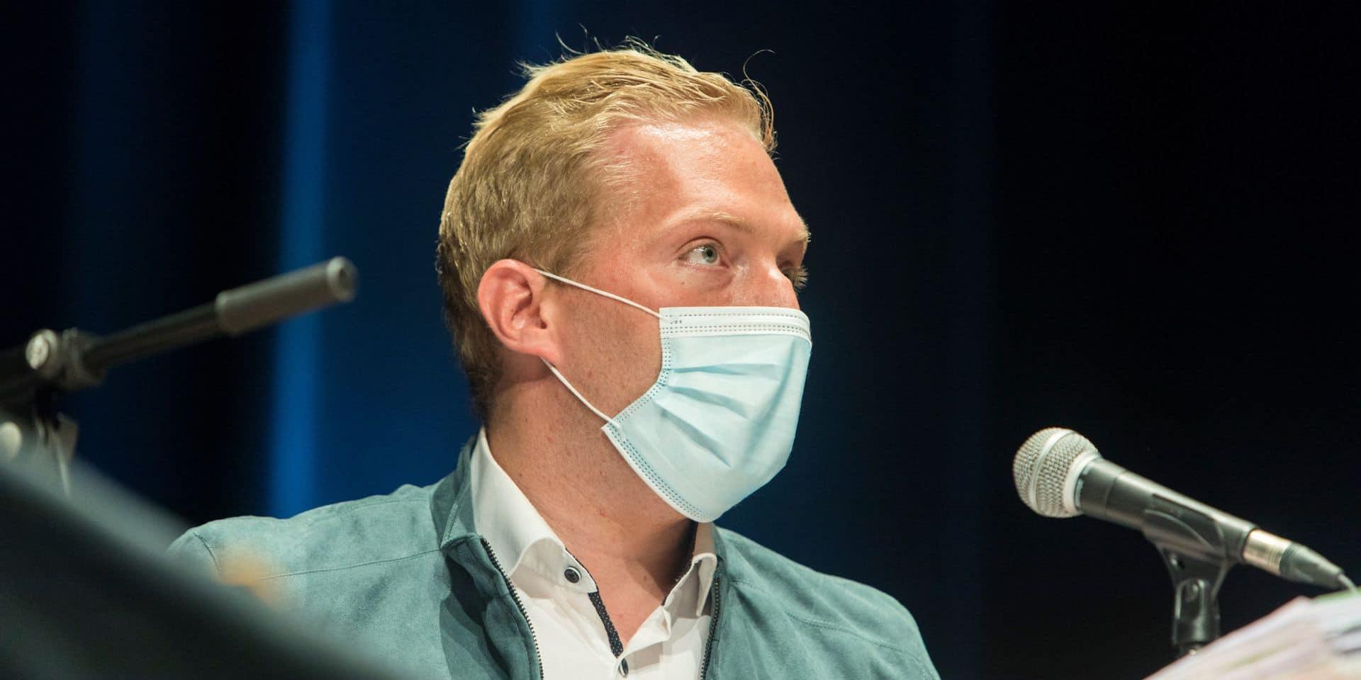 """Alexandre Loffet sera absent du conseil communal spécial ce mercredi: """"Une mascarade!"""""""