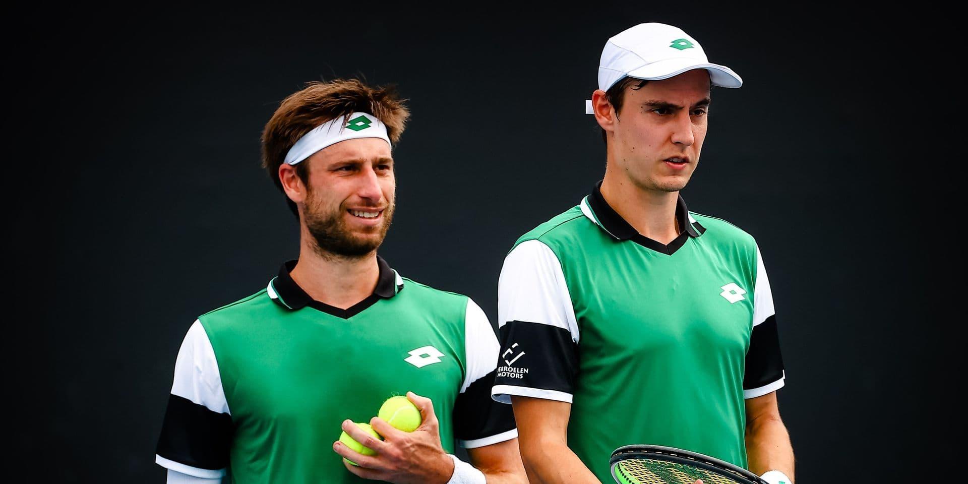 ATP Madrid : Joran Vliegen et Sander Gillé passent le cap du premier tour en double