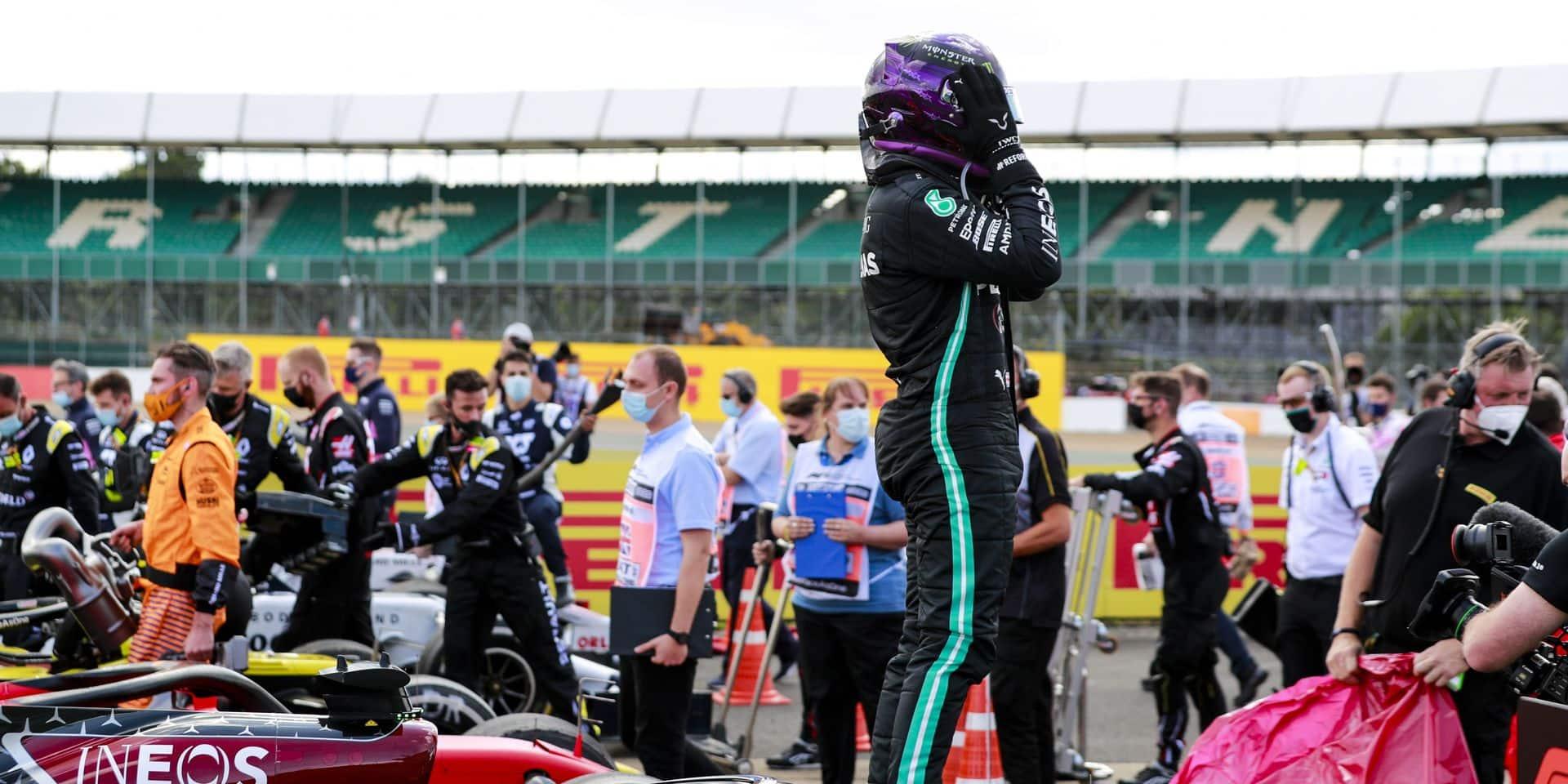 Hamilton et Pirelli, juste éclatants !