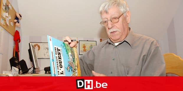 Nivelles, Belgium, 25/11/2006, Raoul Cauvin, scenario writer of comic strip. REPORTERS© Coralie Cardon
