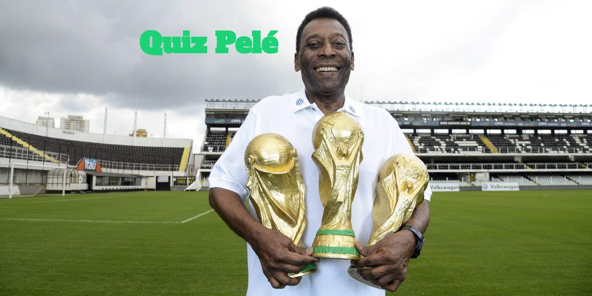 Quiz: connaissez-vous bien l'incroyable vie de Pelé, qui fête ses 80 ans ce vendredi