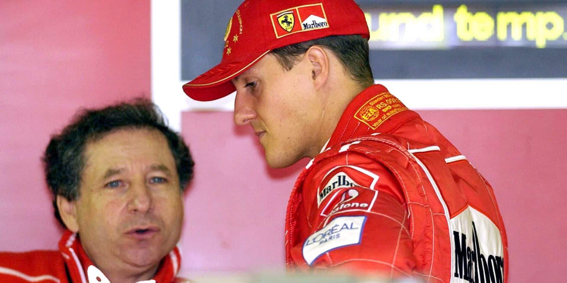 """Jean Todt, l'ancien mentor de Michael Schumacher donne de ses nouvelles: """"Il suit les prestations de son fils"""""""