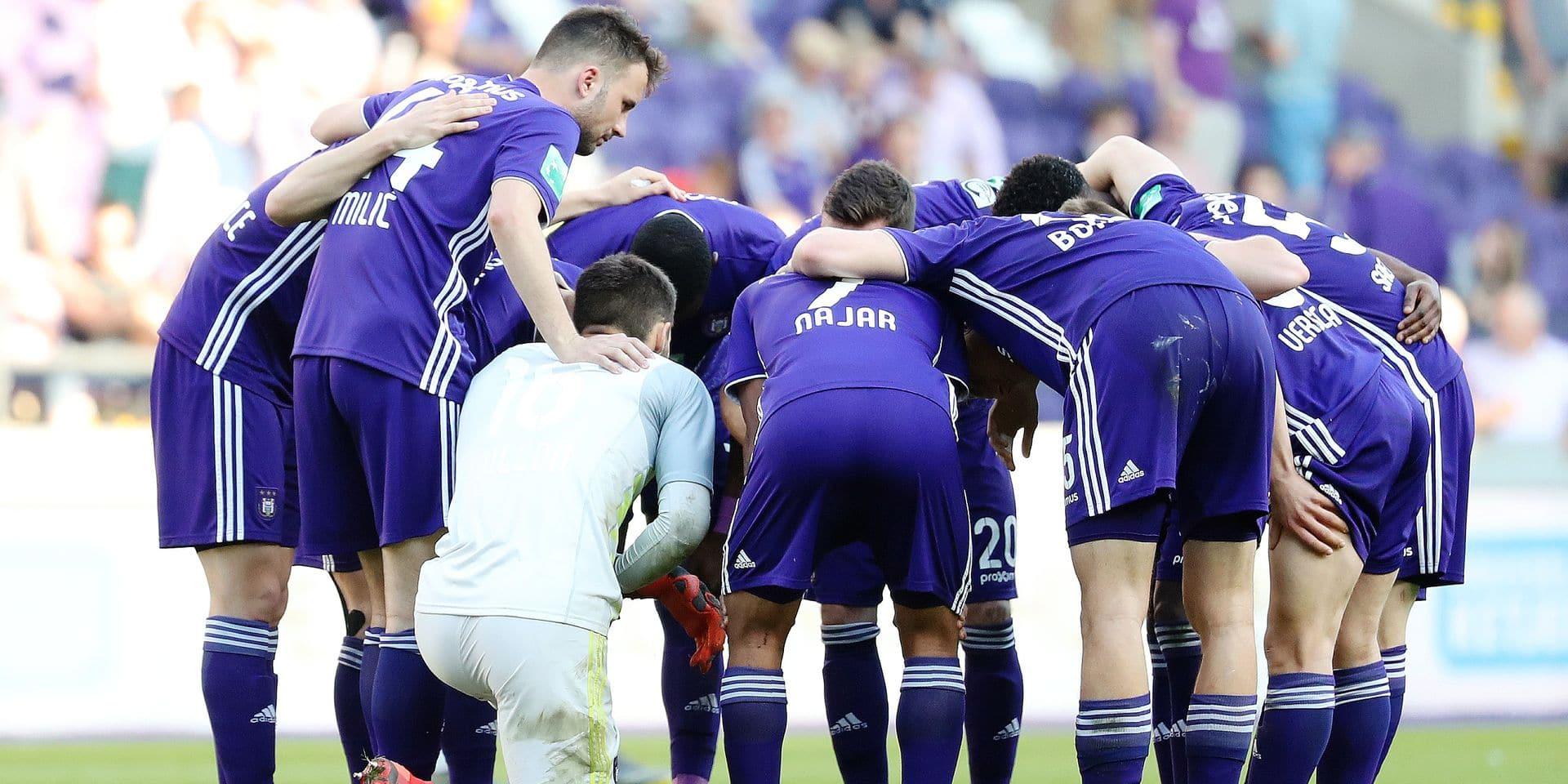 A Anderlecht, joueurs et staff ont vu du progrès mais ils sont vite contents