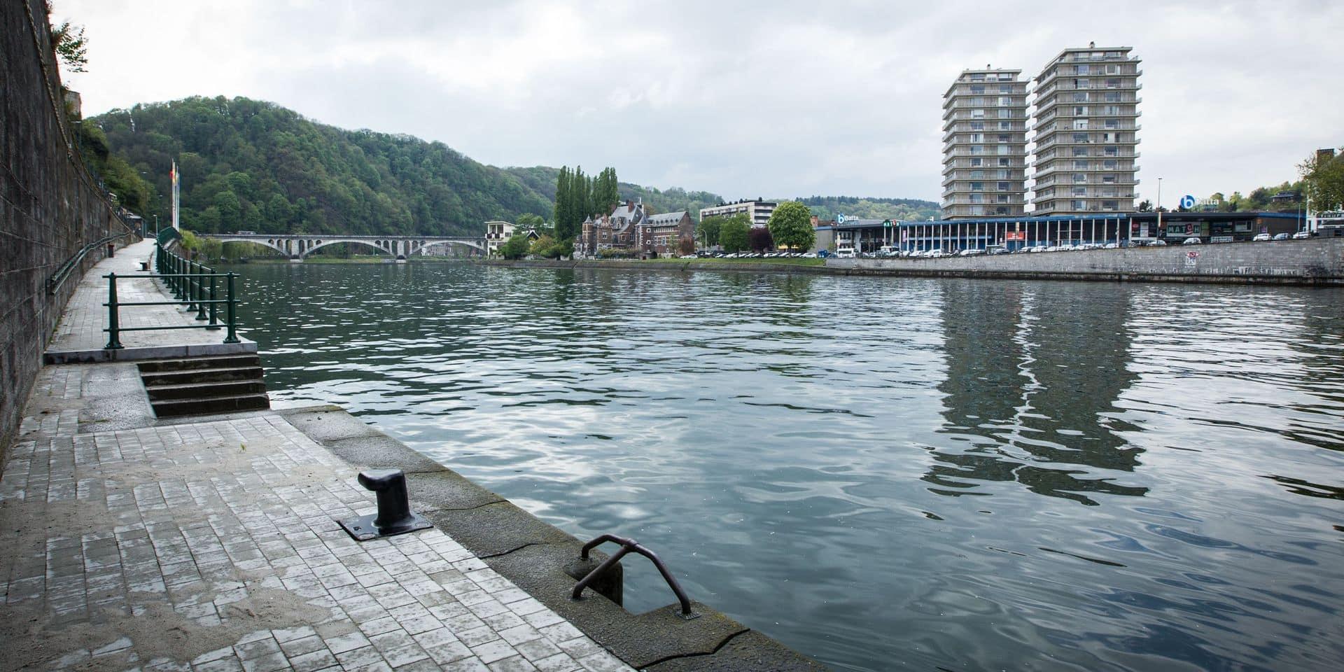 Un homme saute dans la Meuse et décède près de Huy
