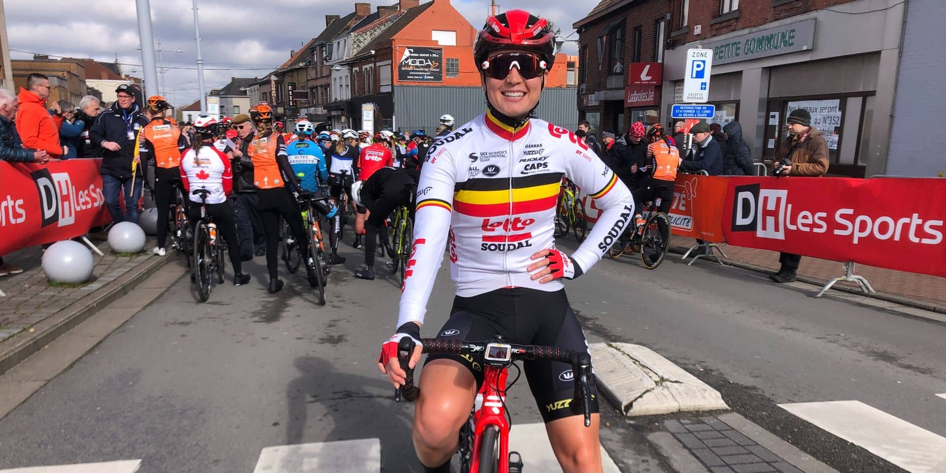 Alana Castrique championne de Belgique espoirs !