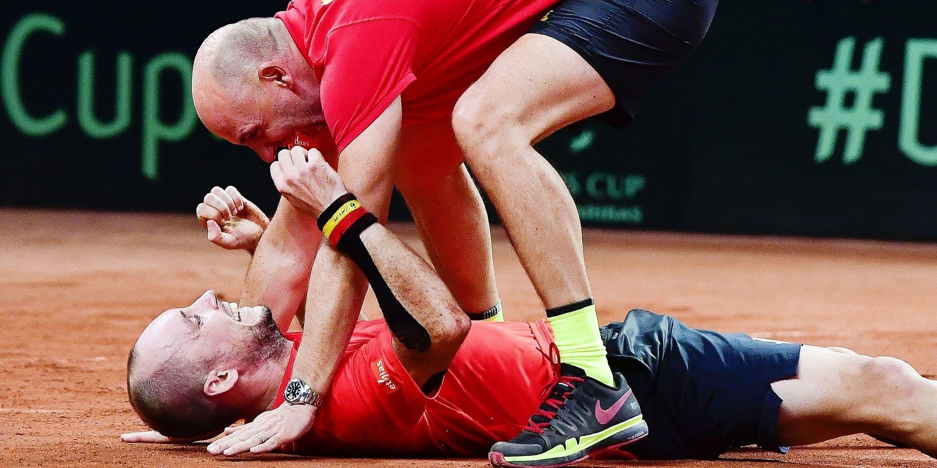 """Johan Van Herck rend hommage à Mister Davis Cup: """"Il pouvait se sacrifier pour l'équipe"""""""
