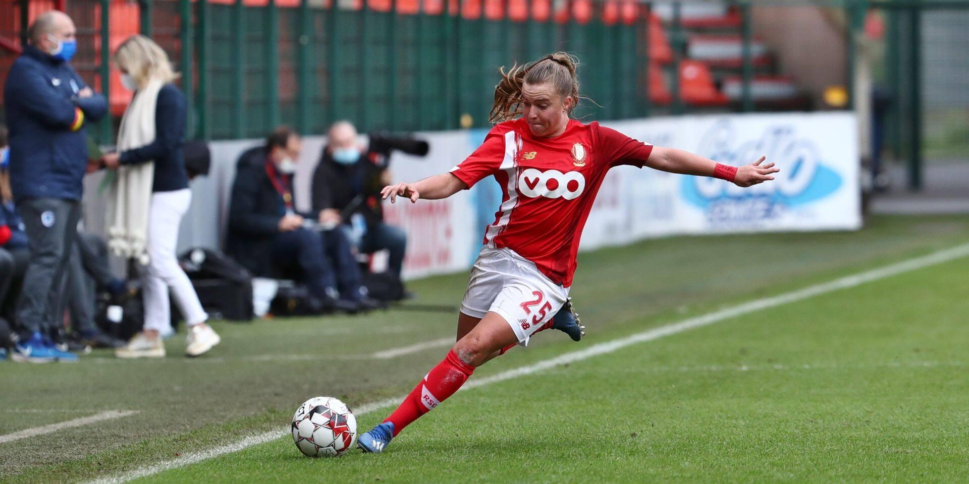Davinia Vanmechelen restera au Standard de Liège