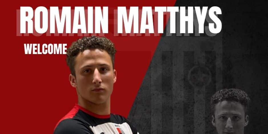 Romain Matthys prêté au RWDM par Eupen