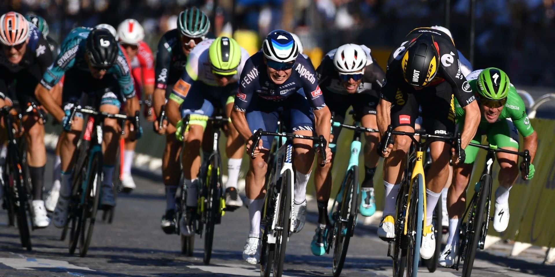 Six podiums mais pas de victoire: un Tour placé sous le signe de la frustration pour Jasper Philipsen