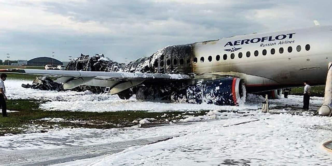 On en sait plus sur l'accident d'avion qui a coûté la vie à 41 personnes à Moscou