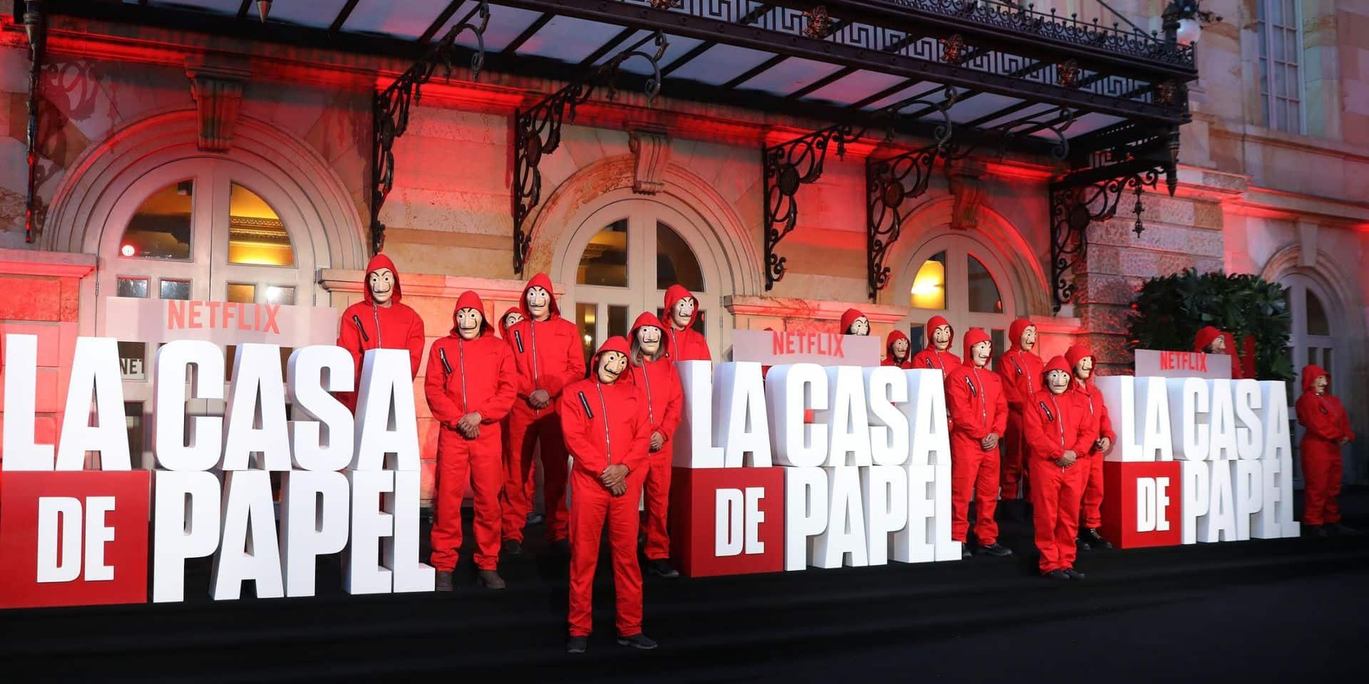 """Ça sent la fin pour l'équipe de tournage de """"La Casa de papel"""" même si la date de diffusion reste un mystère"""