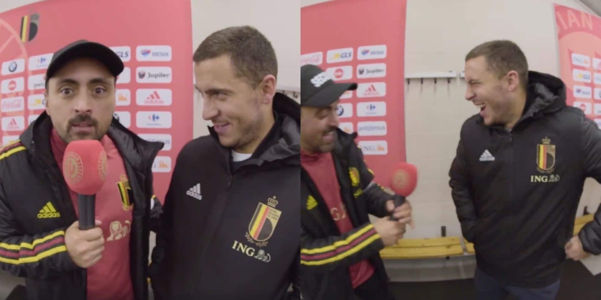 L'interview délirante de Pablo Andres avec Eden Hazard