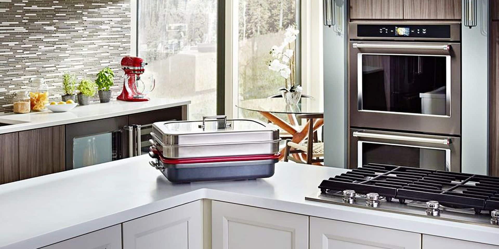 Les fours connectés débarquent dans votre cuisine: quatre plats à la fois et une cuisson vapeur