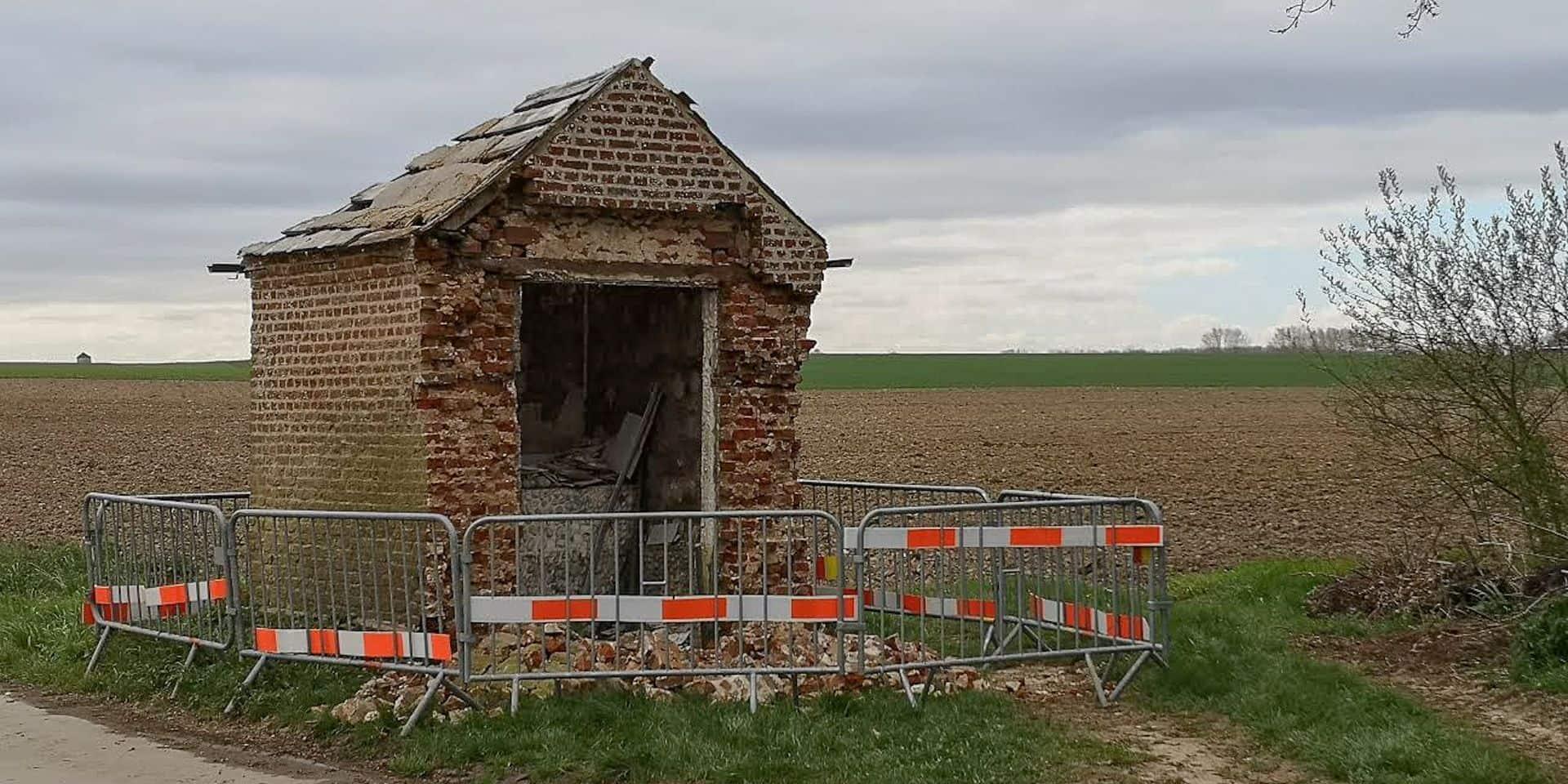 Grosage: une chapelle détruite par des vandales !
