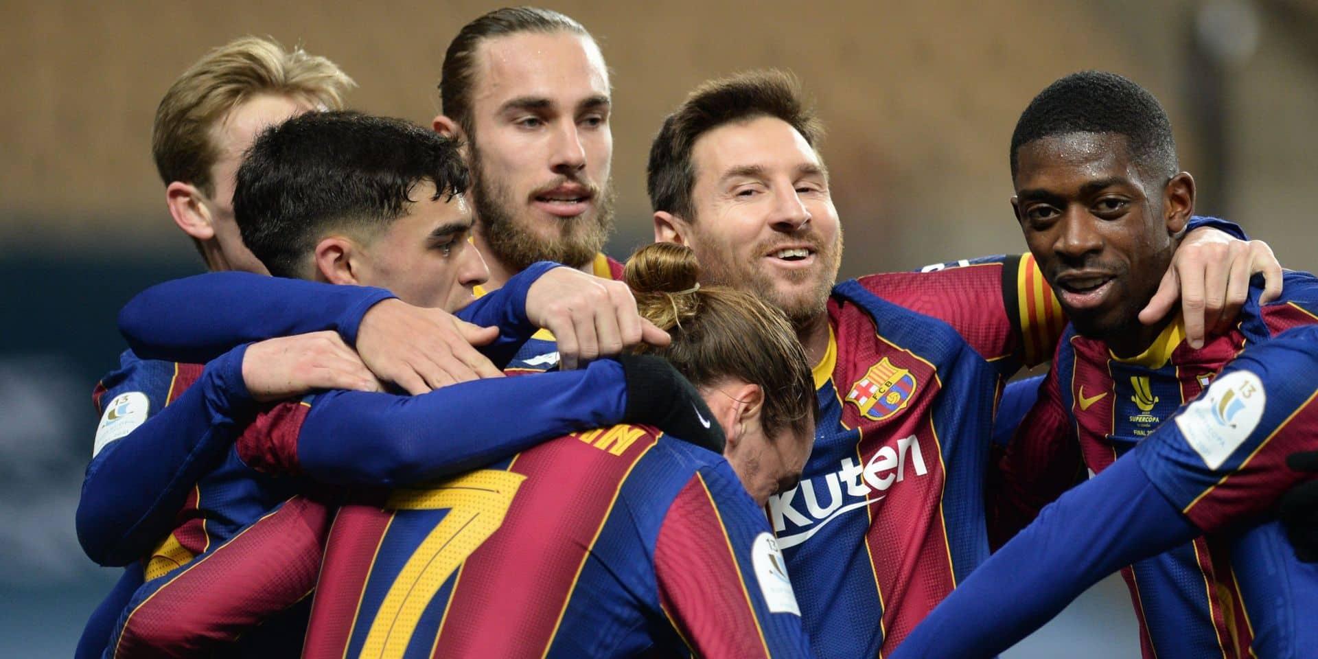 Le FC Barcelone sort un maillot spécial Catalogne pour le prochain clasico (PHOTO)