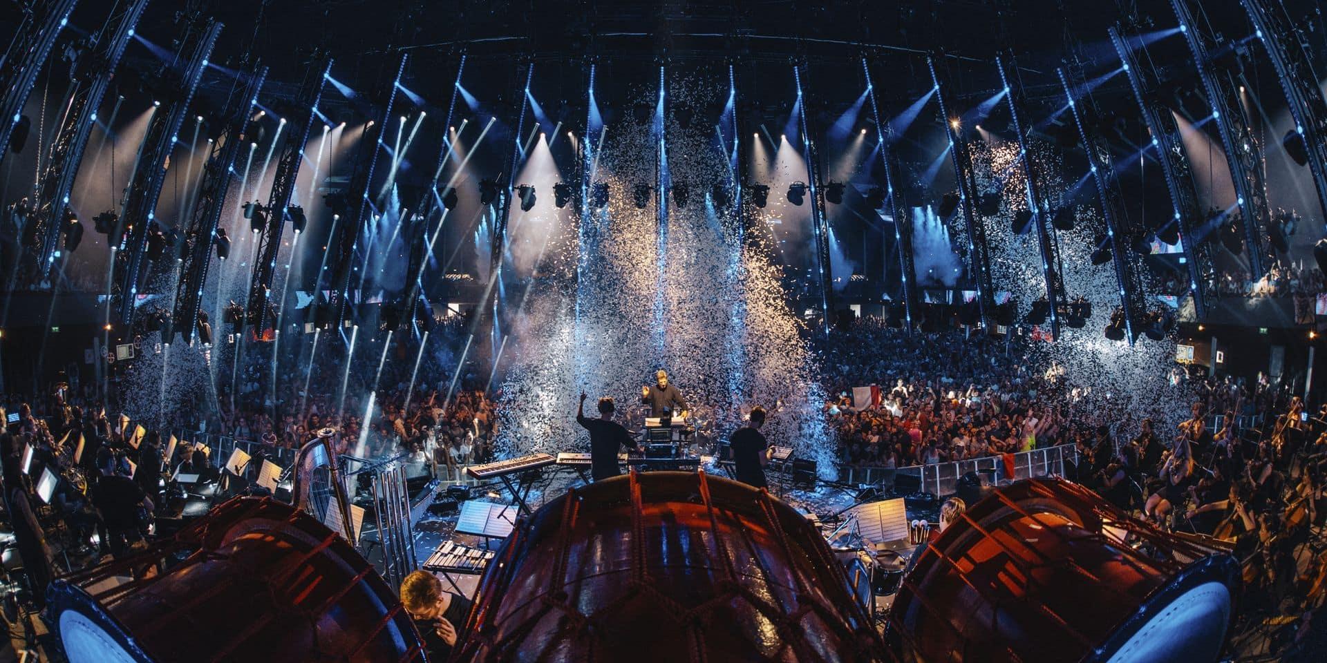 Quand un orchestre symphonique débarque à Tomorrowland