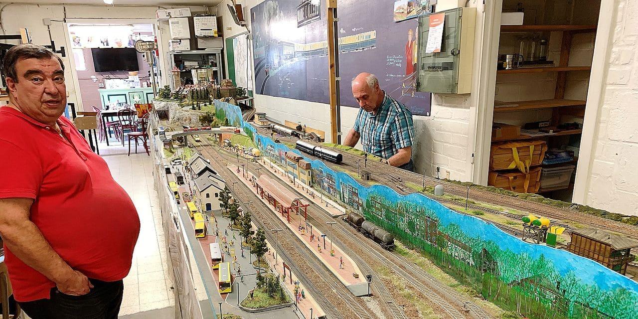 Les passionnés de trains miniatures ouvrent leur porte au public ce week-end à Braine