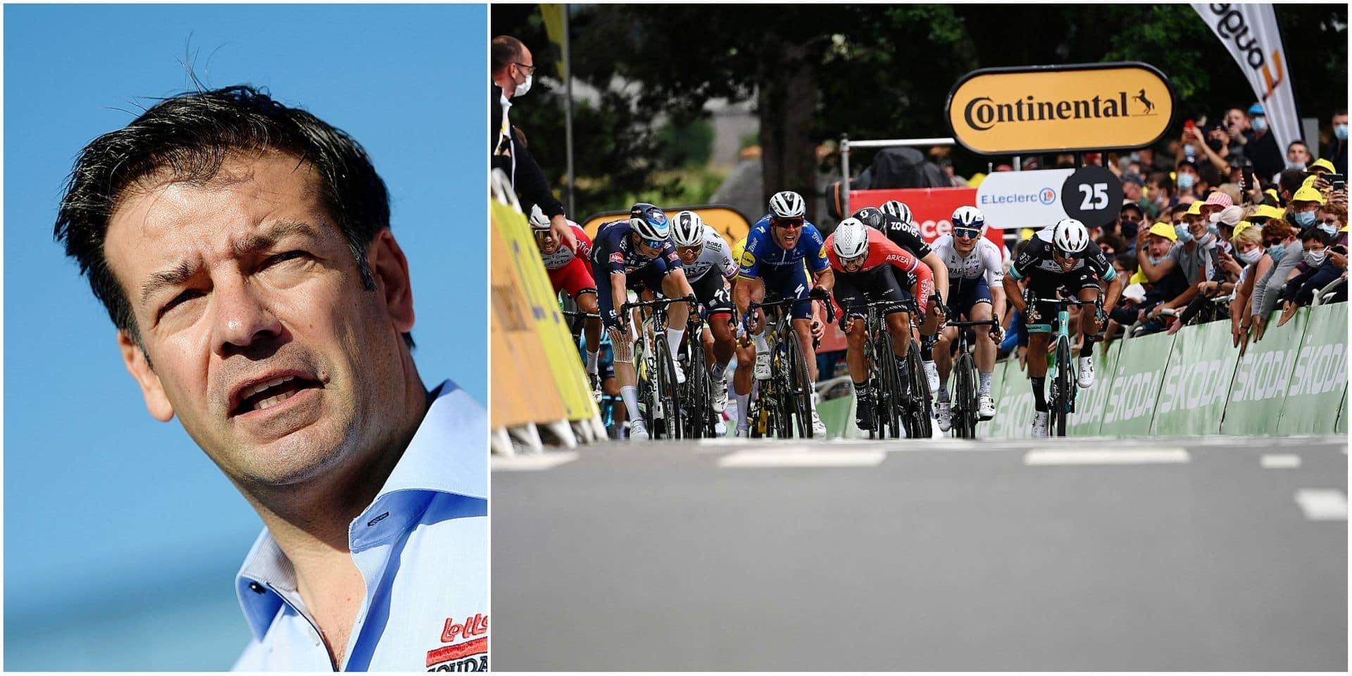 """La 6e étape du Tour de France vue par John Lelangue: """"Un sprint royal lors duquel la vitesse risque d'être extrêmement élevée !"""""""