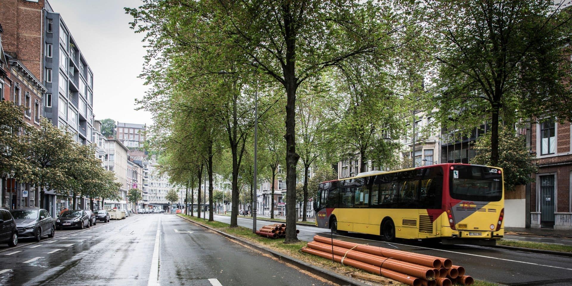 Tram : prolongation des travaux dans la zone Avroy/Sauvenière/Saint-Gilles