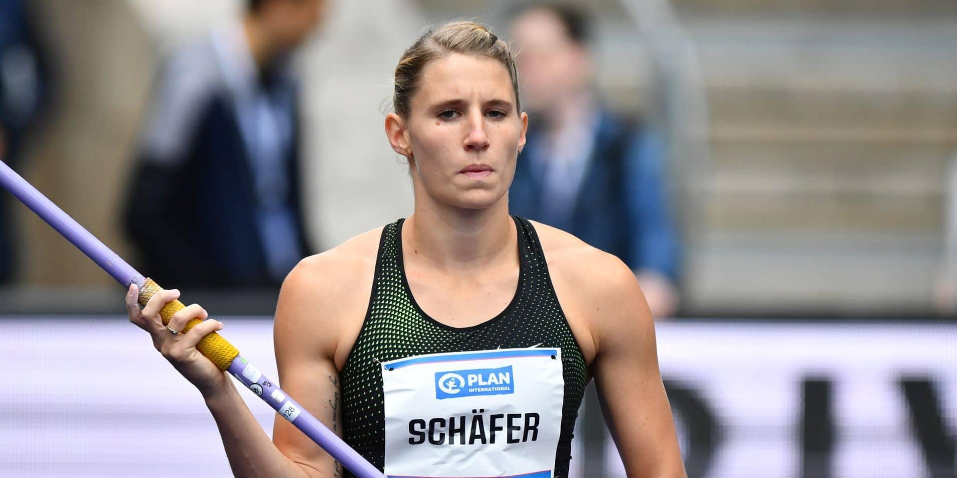 Mondiaux d'athlétisme: la vice-championne du monde de l'heptathlon l'Allemande Carolin Schäfer renonce à Doha