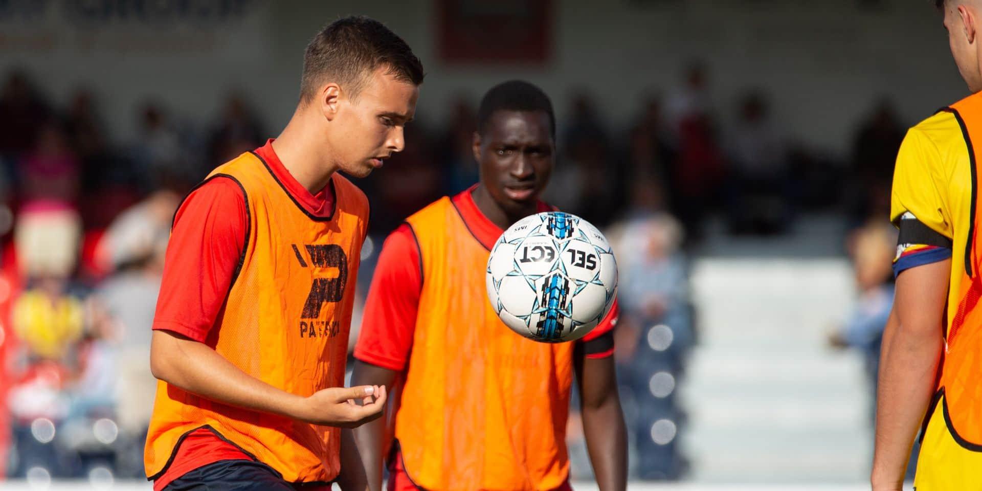 D1 amateurs: Maxime Raskin quitte le RFC Liège !