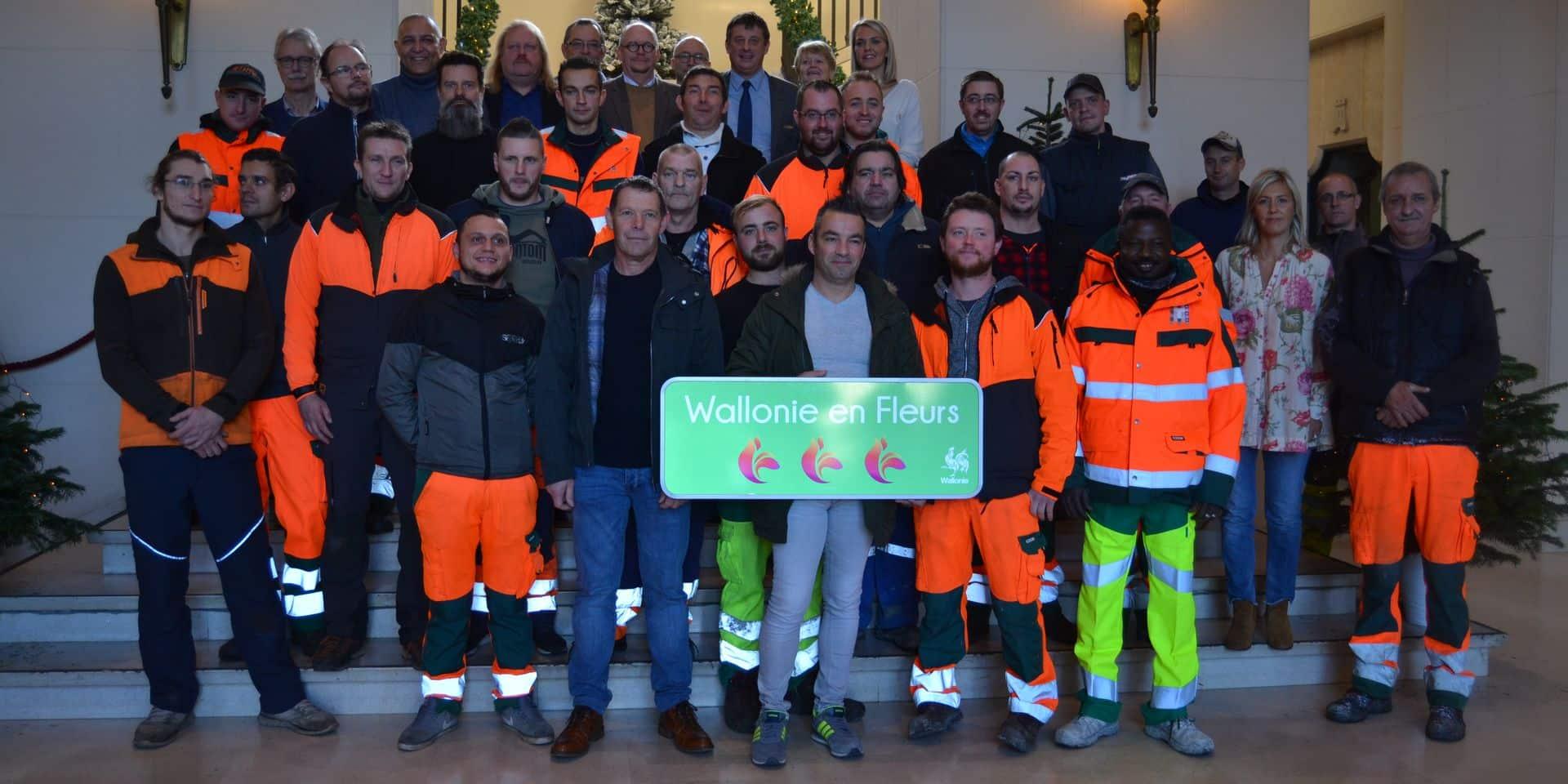 Tournai: le service des espaces verts récompensé !