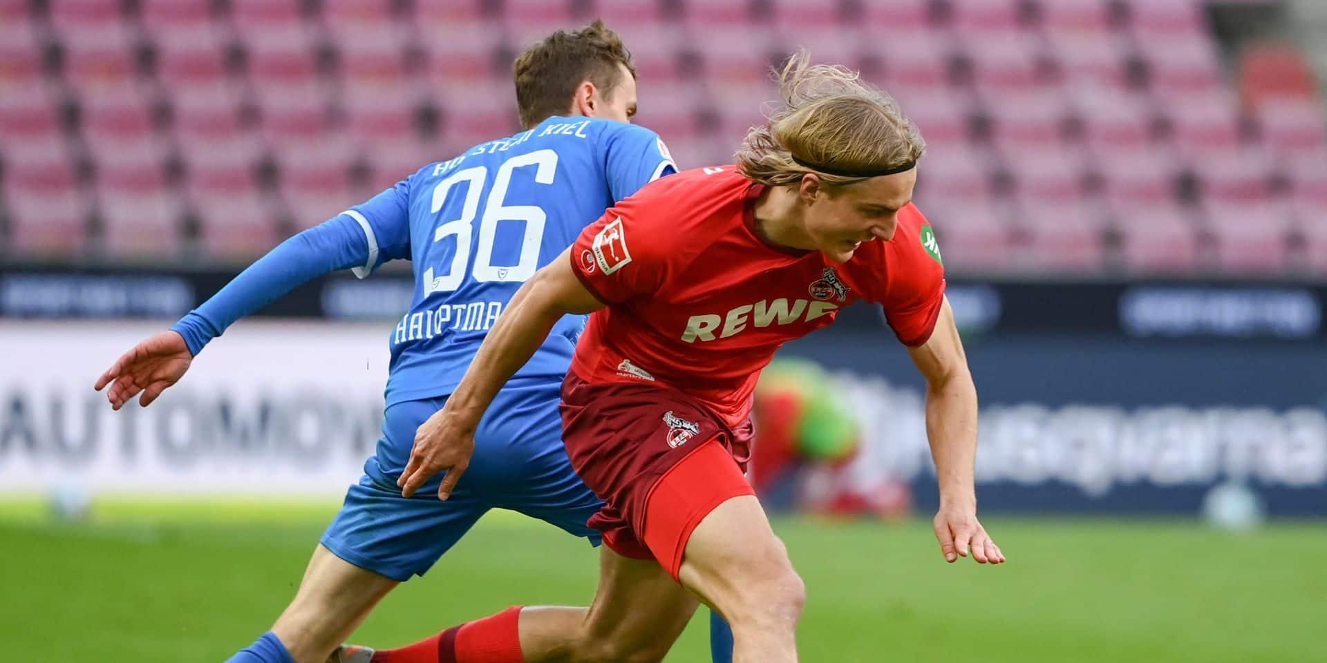 Bornauw et Cologne ont un orteil en D2 allemande après sa défaite contre Kiel