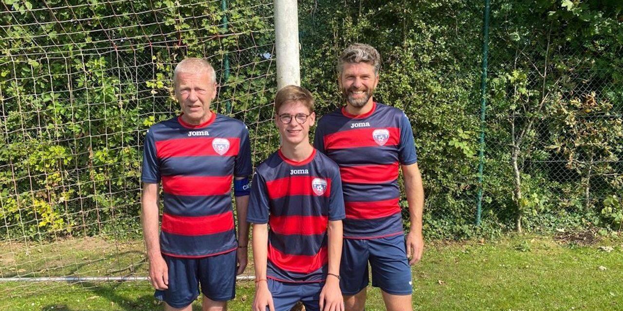 Trois générations réunies dans la même équipe en D4 ABSSA