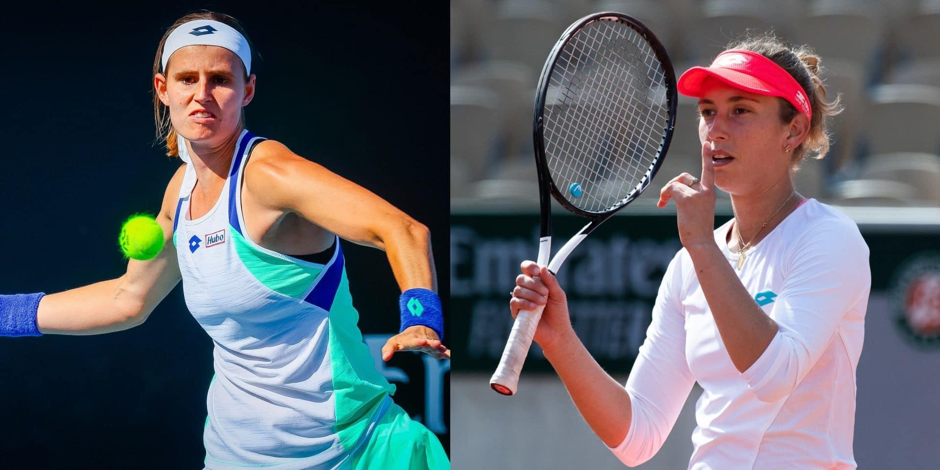 Roland-Garros: Elise Mertens hérite de Storm Sanders, Greet Minnen retrouve Petra Kvitova