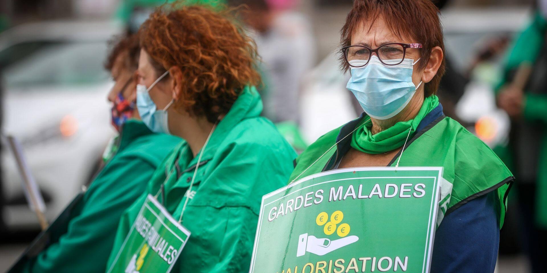 Quelques milliers de personnes sont attendues à la Grande Manifestation de la Santé à Bruxelles