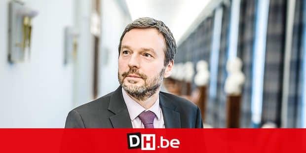 20181217 - BELGIQUE, BRUXELLES: Portrait de Pierre Wunsch, le 17 decembre 2018. PHOTO OLIVIER PAPEGNIES / COLLECTIF HUMA