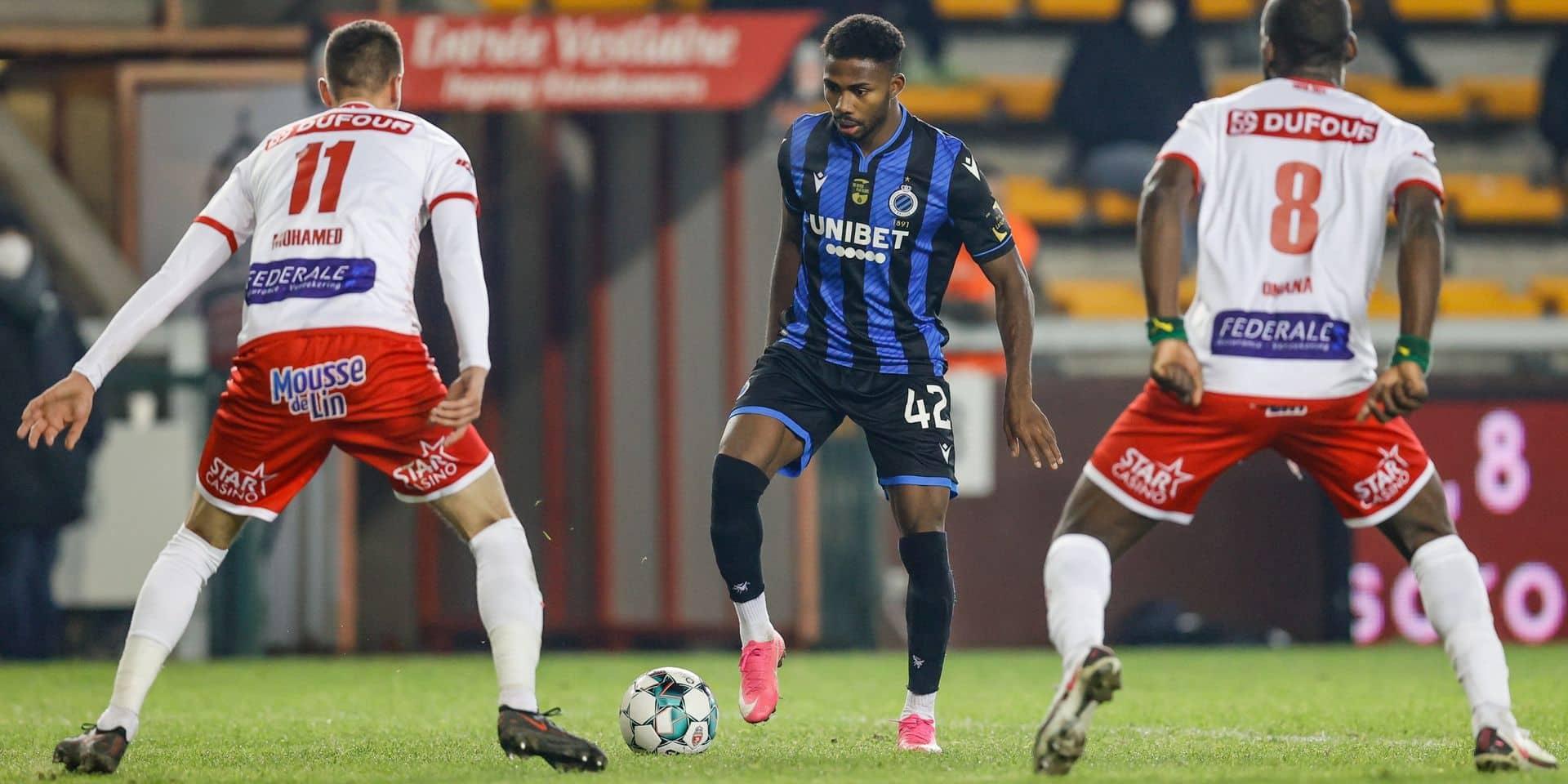 Mouscron confirme en tenant en échec le Club de Bruges (0-0)