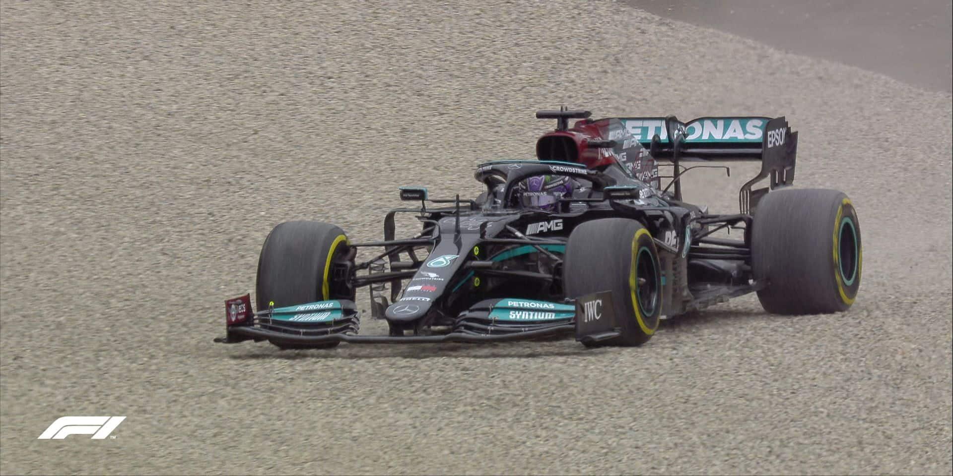 GP d'Autriche (Libres 2): Hamilton prend la main... et file dans les graviers